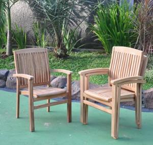 teak garden chairs