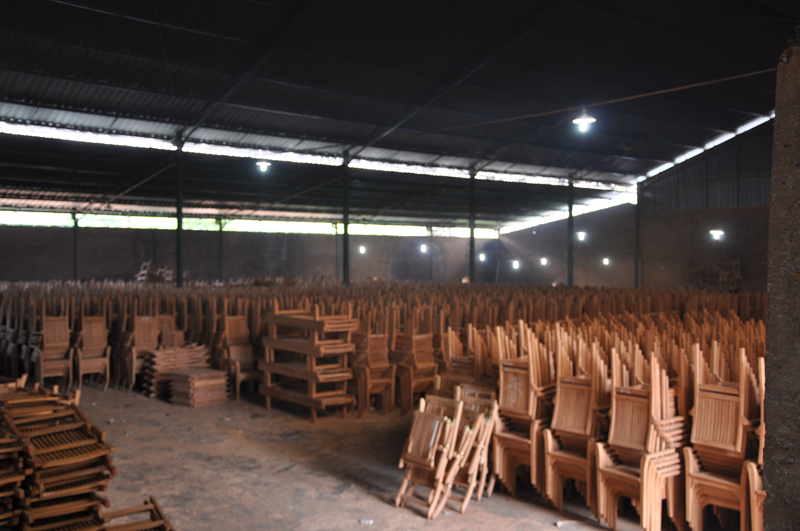 The industry of teak wood furniture has grown massively, as the industry is  supported for the source availability by the government as well.