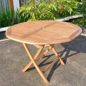 round garden tables