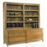 Shop Cabinet 2 Doors glass, 2 Door woods