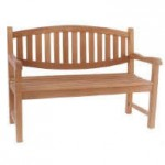 Double Oval 2 Seat Bench