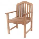 Carving Garden Arm Chair