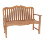 Carving Garden 2 Seat Bench