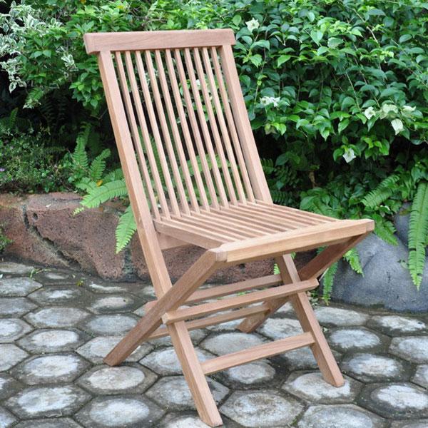 ... Teak Folding Chairs