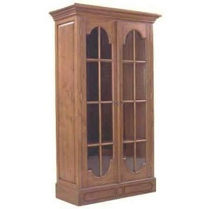 Jepara Glass Cabinet
