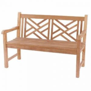 Cross Back 2 Seat Bench