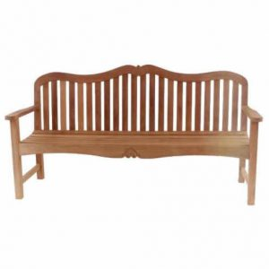 Carving Garden 3 Seat Bench