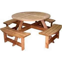 Round Garden Family Table