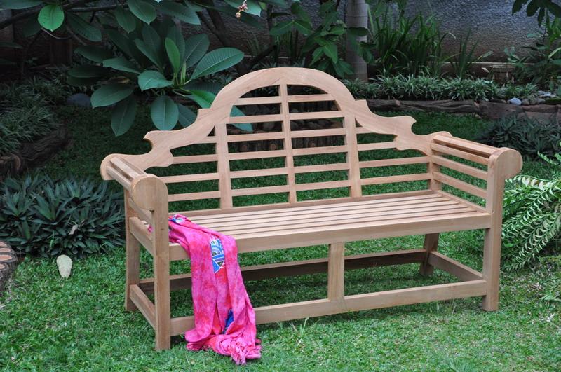 Pleasant Marlboro Outdoor Wooden Teak Garden Bench Indonesia Teak Machost Co Dining Chair Design Ideas Machostcouk