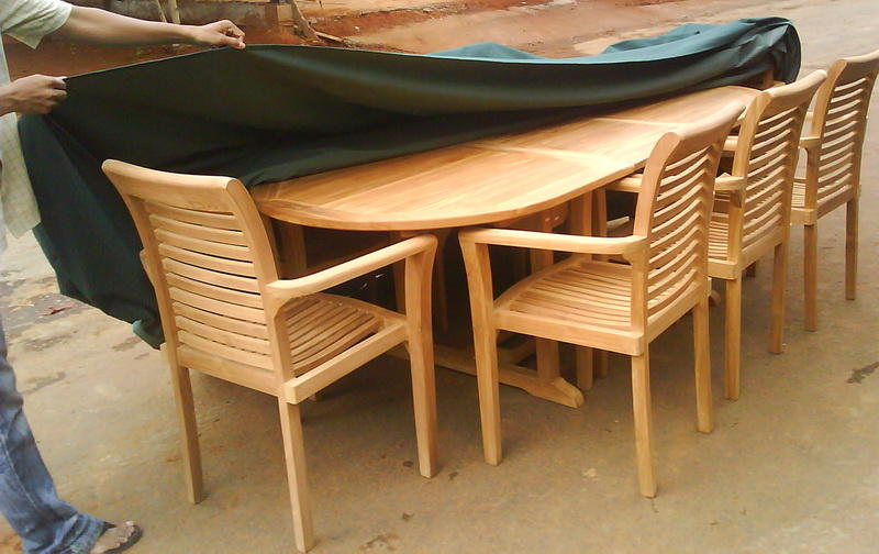 Outdoor Cover To Keep Outdoor Teak Furniture Indonesia