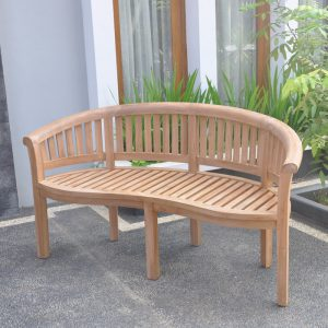 Banana Round Back Bench