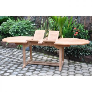 Double Extension Table Oval