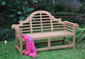 teak garden bench lutyens