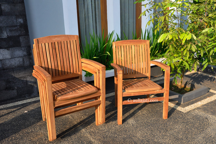 Teak Garden Chairs With Arms